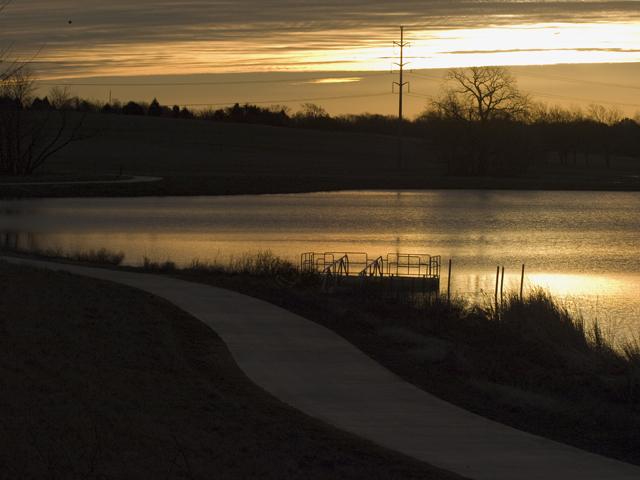 Sunrise at Oak Point
