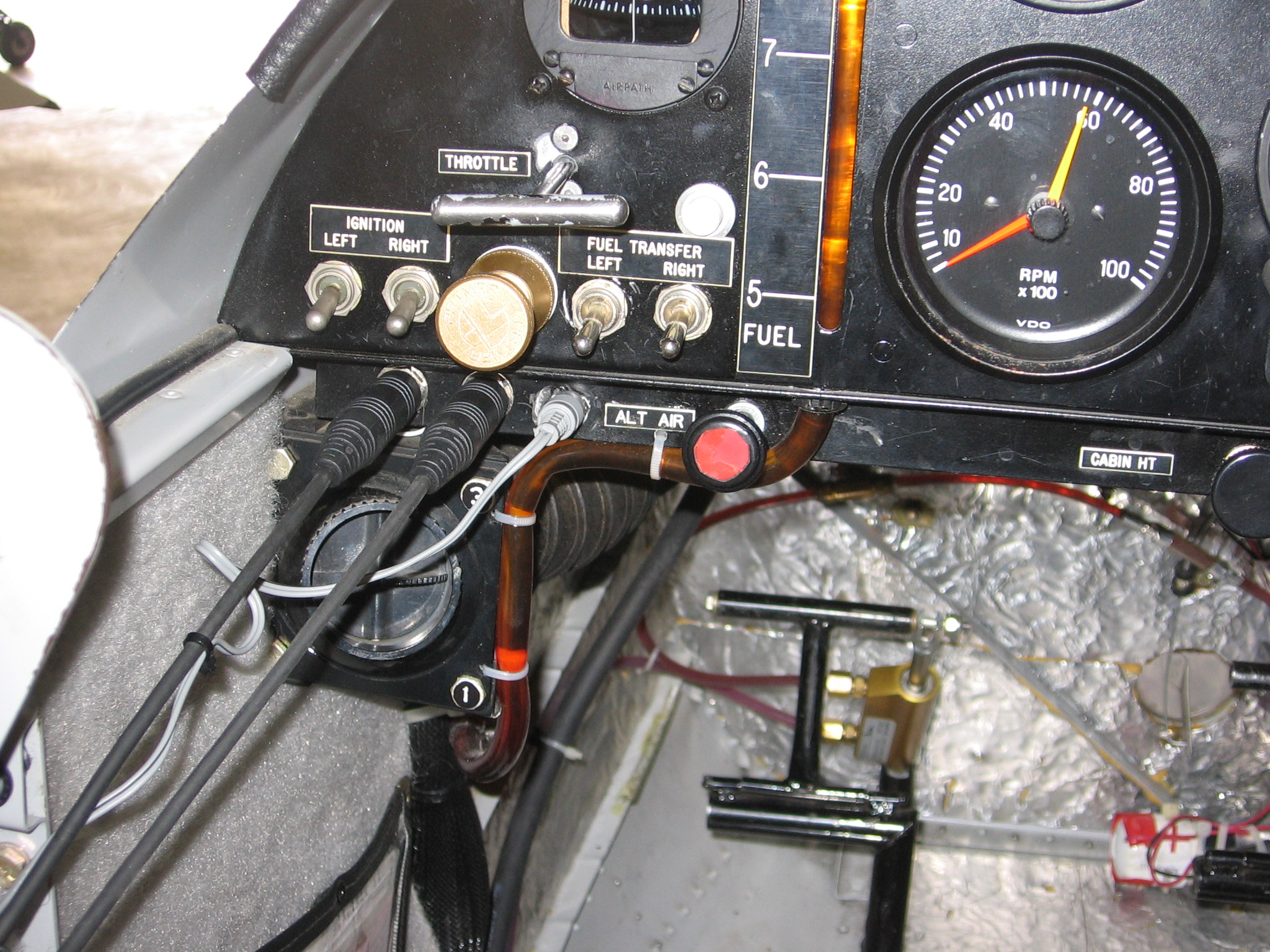 Design Improvements for the Zenith 601 HDS: Ignition Switches